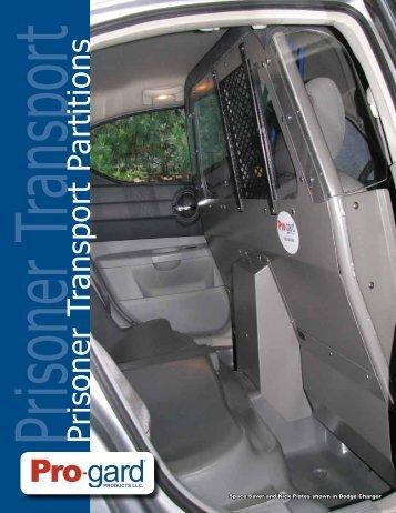 Prisoner Transport Prisoner Transport Partitions - Pro-Gard Products