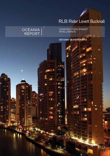 oCeania report - Rider Levett Bucknall