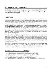 Scarica il documento in versione integrale - Filippeschi, Marco