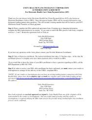 Print and Mail Form - Unity Health Insurance