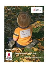 Walk Report 2009 for website - The ALS Association Greater ...