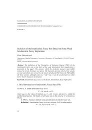 Inclusion of the Intuitionistic Fuzzy Sets Based on Some Weak ...