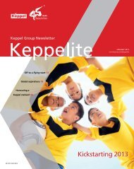 January 2013 - Keppel Corporation