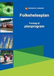 Folkehelseplan - Fredrikstad kommune