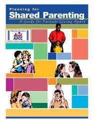 Planning for Shared Parenting - Mass.Gov