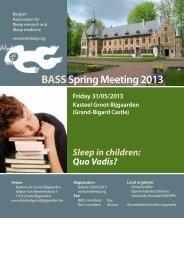 BASS Spring Meeting 2013.indd - VVP