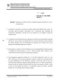 Circular n.º 44/2009, Série II