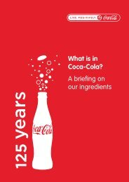 What is in Coca-Cola? A briefing on our ingredients