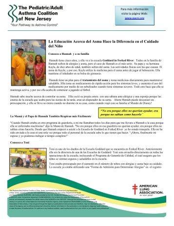 La historia dellcuidado del niño - The Pediatric Asthma Coalition of ...