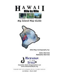 Hawaii Names - Hawaii Travel Guide
