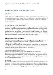 Hvordan gennemføres casestudiet i praksis v. 2.0 - PBworks