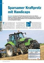 Agrotron TTV 630 Testbericht - Deutz-Fahr