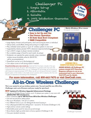 All-in-One Wireless Challenger Challenger PC - Ossaaonline.com