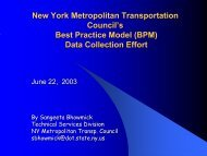 New York Metropolitan Transportation Council's Best ... - NARC