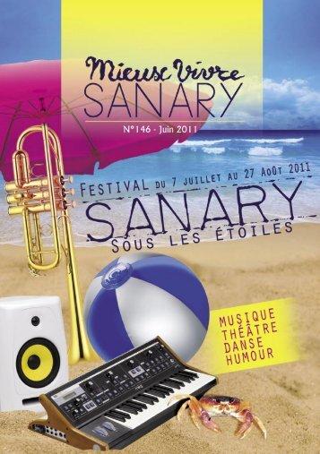 Mieux Vivre N°146 - Juin 2011 (.pdf - 2,39 Mo) - Sanary-sur-Mer