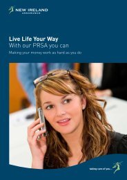 Live Life Your Way With our PRSA you can - New Ireland Assurance