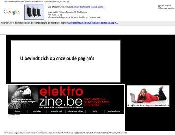 Google Afbeeldingen resultaat voor http://www.elektrozine.be ...
