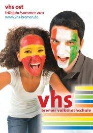 vhs ost - Bremer Volkshochschule