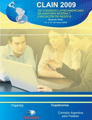 Brochure CLAIN 2009 - Felaban
