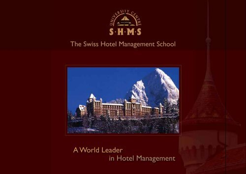 A World Leader in Hotel Management
