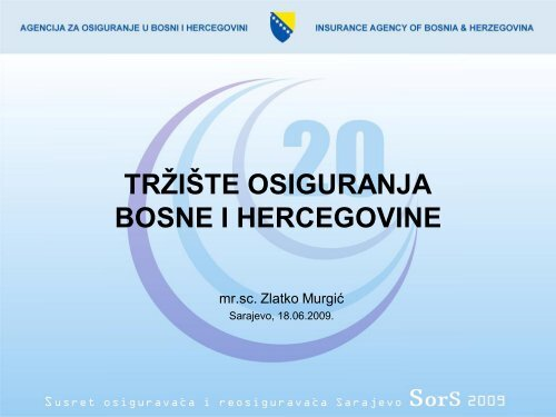 Trziste osiguranja BIH 2008 - Bosna RE