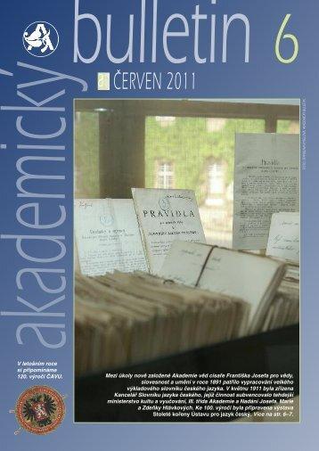 Sestava 1 - Akademický bulletin - Akademie věd ČR