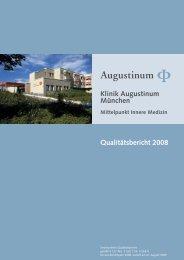 Klinik Augustinum München Qualitätsbericht 2008