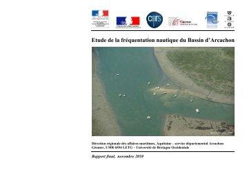Etude de la fréquentation nautique du Bassin d'Arcachon