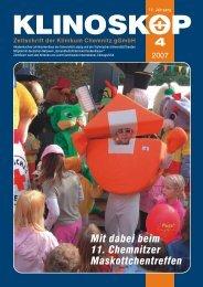 Klinoskop Nr. 4/2007 ( 2.7 MB im PDF - Klinikum Chemnitz