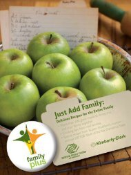 Salads, Soups and Sides - Family Plus - Boys & Girls Clubs of America
