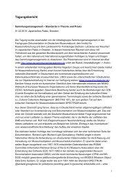 Standards in Theorie und Praxis - Archäologie in Sachsen