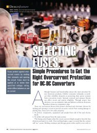Selecting Fuses Article - Cooper Bussmann