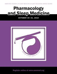 Brochure - American Academy of Sleep Medicine