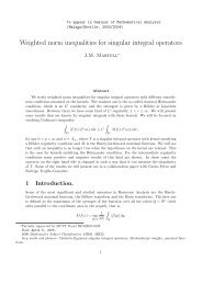 Weighted norm inequalities for singular integral operators