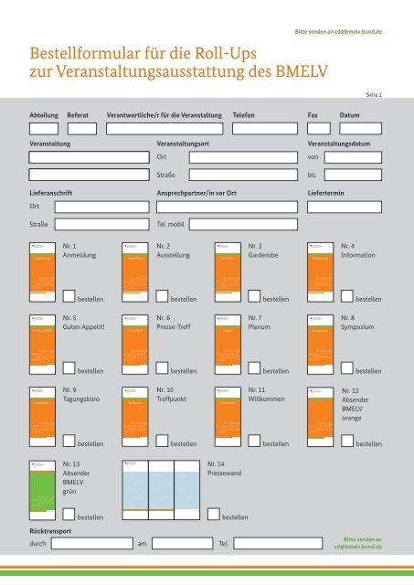 Pdf Formular Zur Bestellung Corporate Design Bmelv