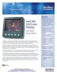 VeeCAN 320 Color Display - Veethree Instruments
