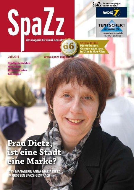 Frau Dietz, ist eine Stadt eine Marke? - KSM Verlag
