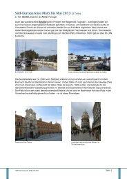 Süd-Europareise März bis Mai 2013 (3 Teile) - Stalgies