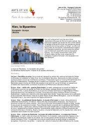 Kiev, la Byzantine - Arts et Vie