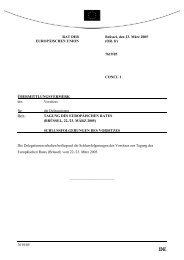 Schlussfolgerungen des Vorsitzes – Brüssel, 22. und 23. März 2005 ...
