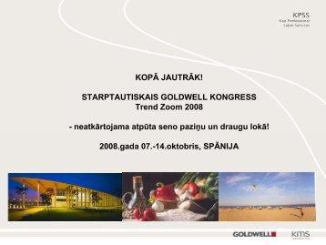 GOLDWELL Strategy Workshop