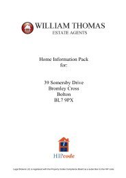 Home Information Pack for - Internet Solutions Services Ltd