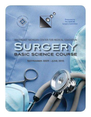 Surgery - SEMCME