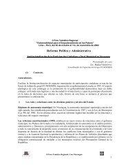 Reforma Política y Administrativa - CISAS   Centro de Información y ...