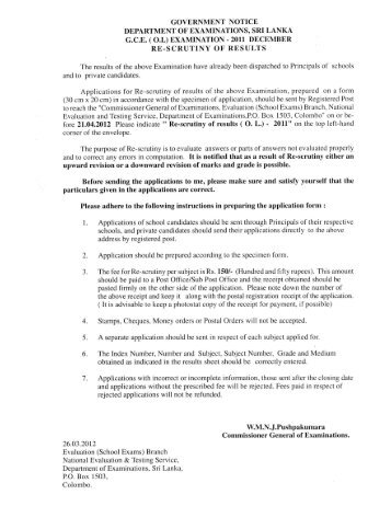 Page 1 GOVERNMENT NOTICE DEPARTMENT OF ...
