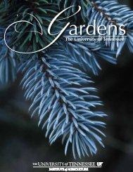 Fall/Winter 2011-12 - UT Gardens - The University of Tennessee