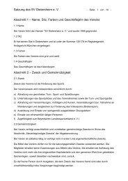 Satzung des SVD (PDF, 60 kB) - SV Dietersheim