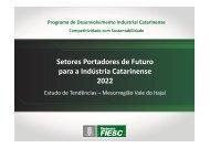 Estudo de Tendências da Mesorregião Vale do Itajaí - Fiesc