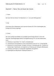 neue Satzung (PDF, 20 kB) - SV Dietersheim