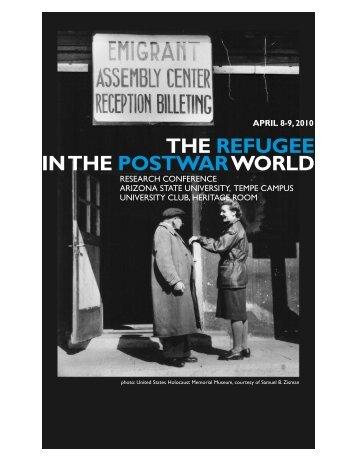 large print program (PDF) - ASU Jewish Studies - Arizona State ...